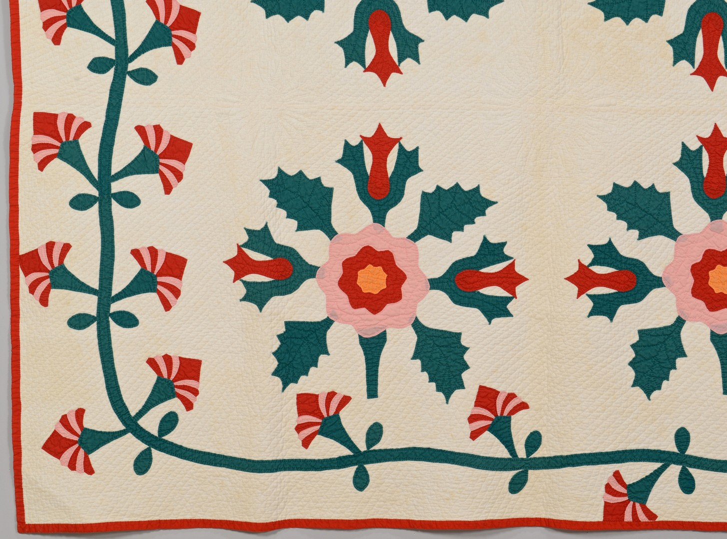 Lot 156: East TN Applique Quilt