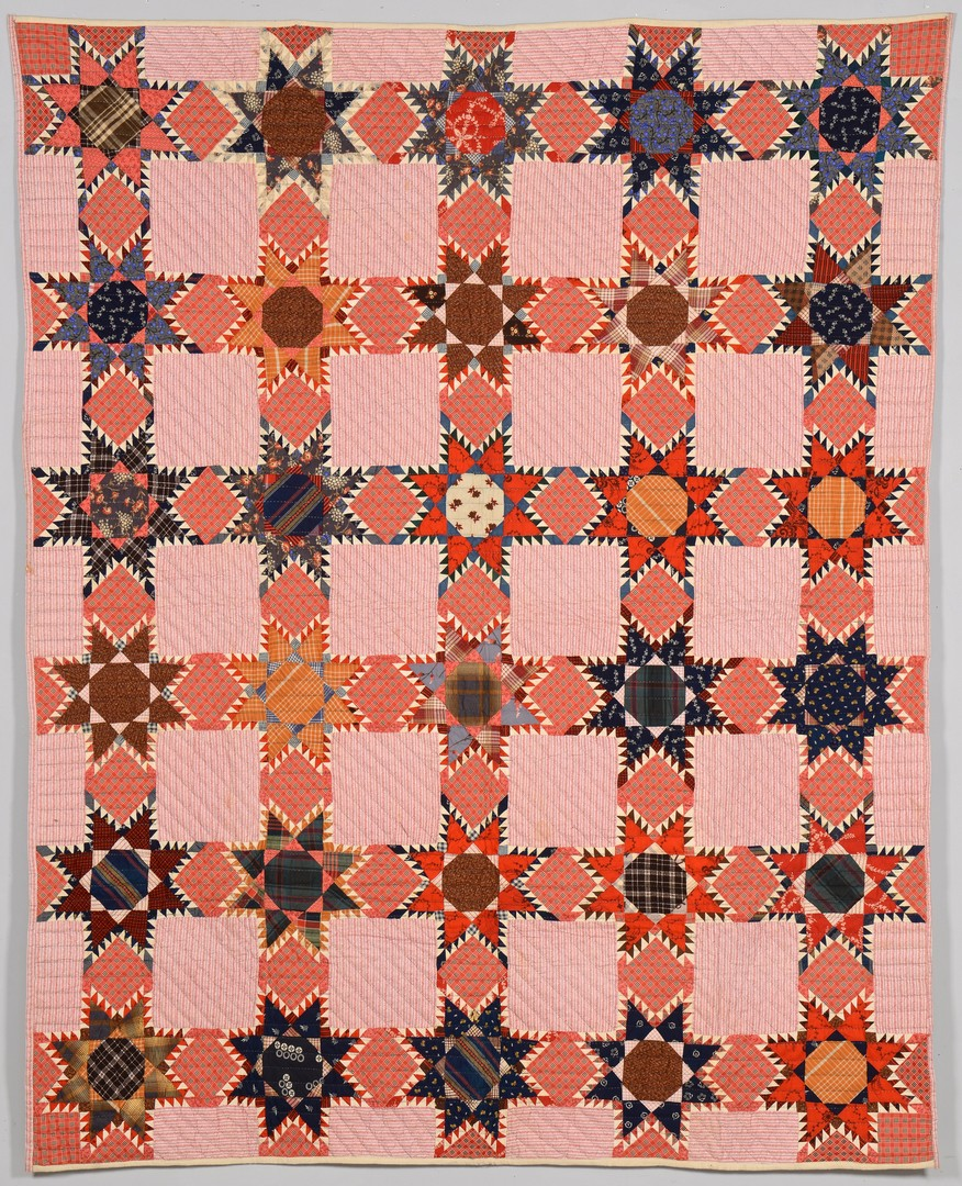 Lot 158: 2 East TN 19th c. Quilts