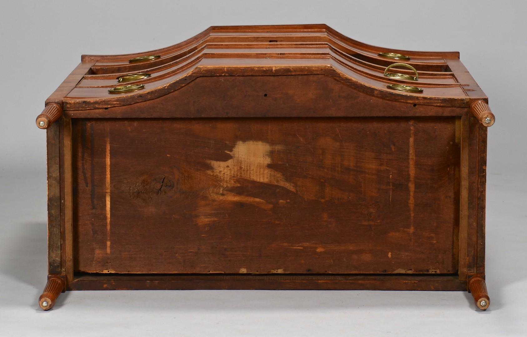 Lot 163: Kentucky Cherry Blockfront Chest of Drawers