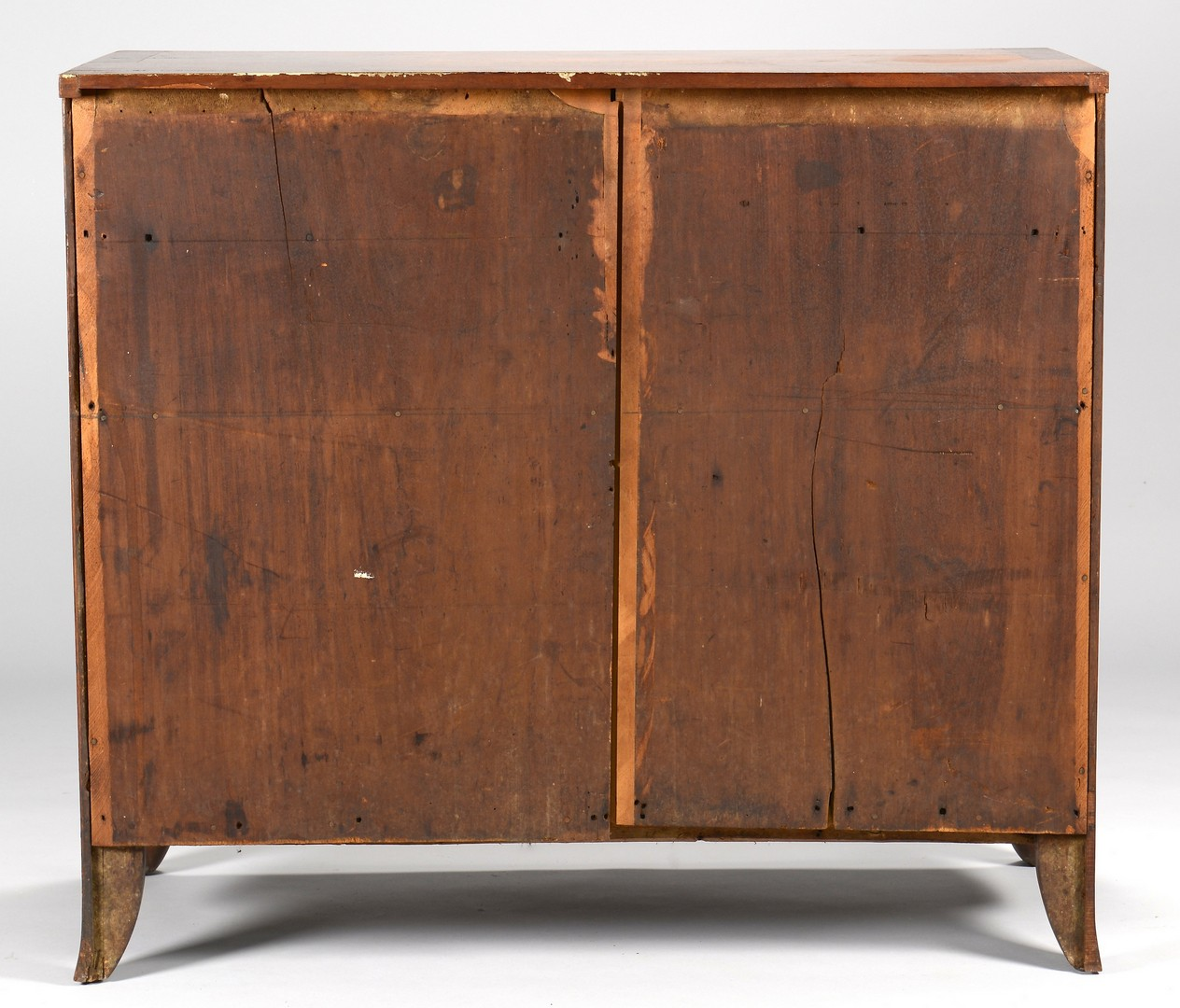 Lot 166: East TN Federal Inlaid Chest of Drawers