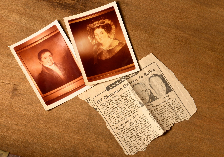 Lot 167: East TN Walnut Tall Chest, Gaut Family History