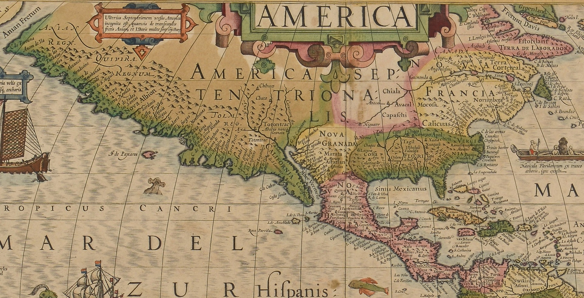 Lot 171: Two Mercator / Hondius Maps