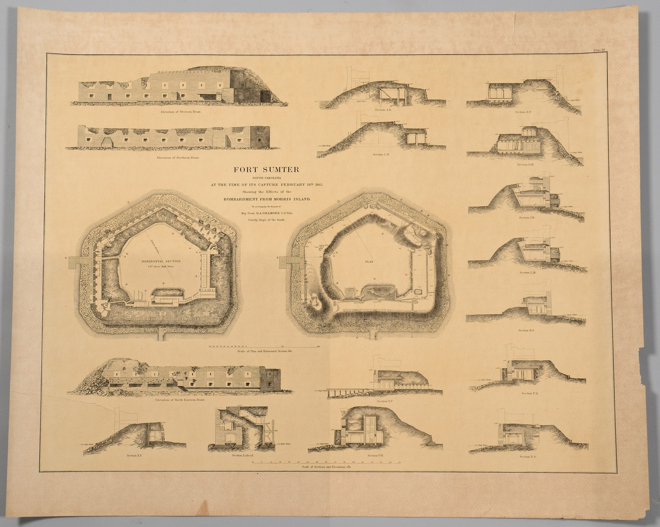 Lot 172: 2 South Carolina Civil War Maps