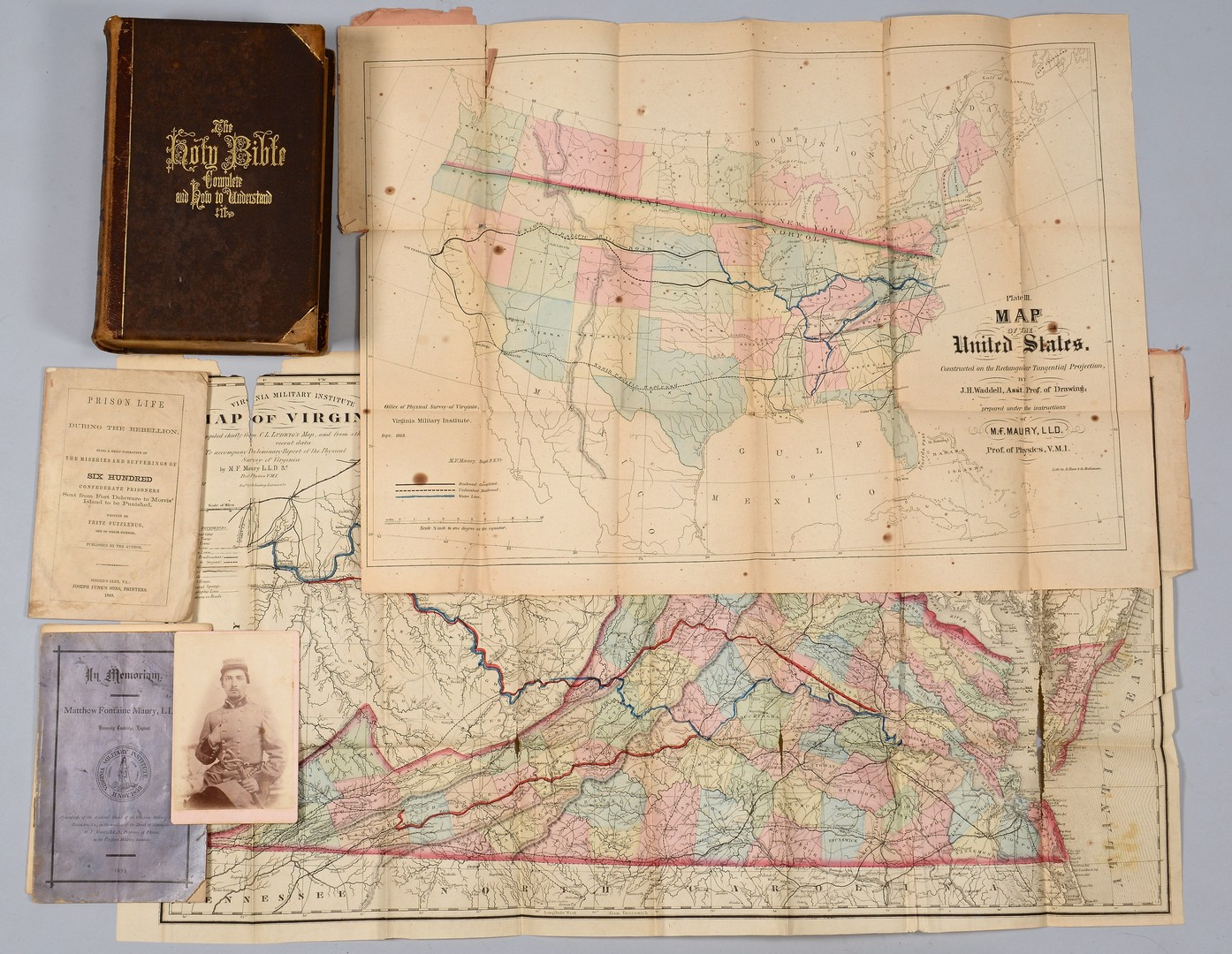 Lot 178: Confederate Archive items, Scales Family