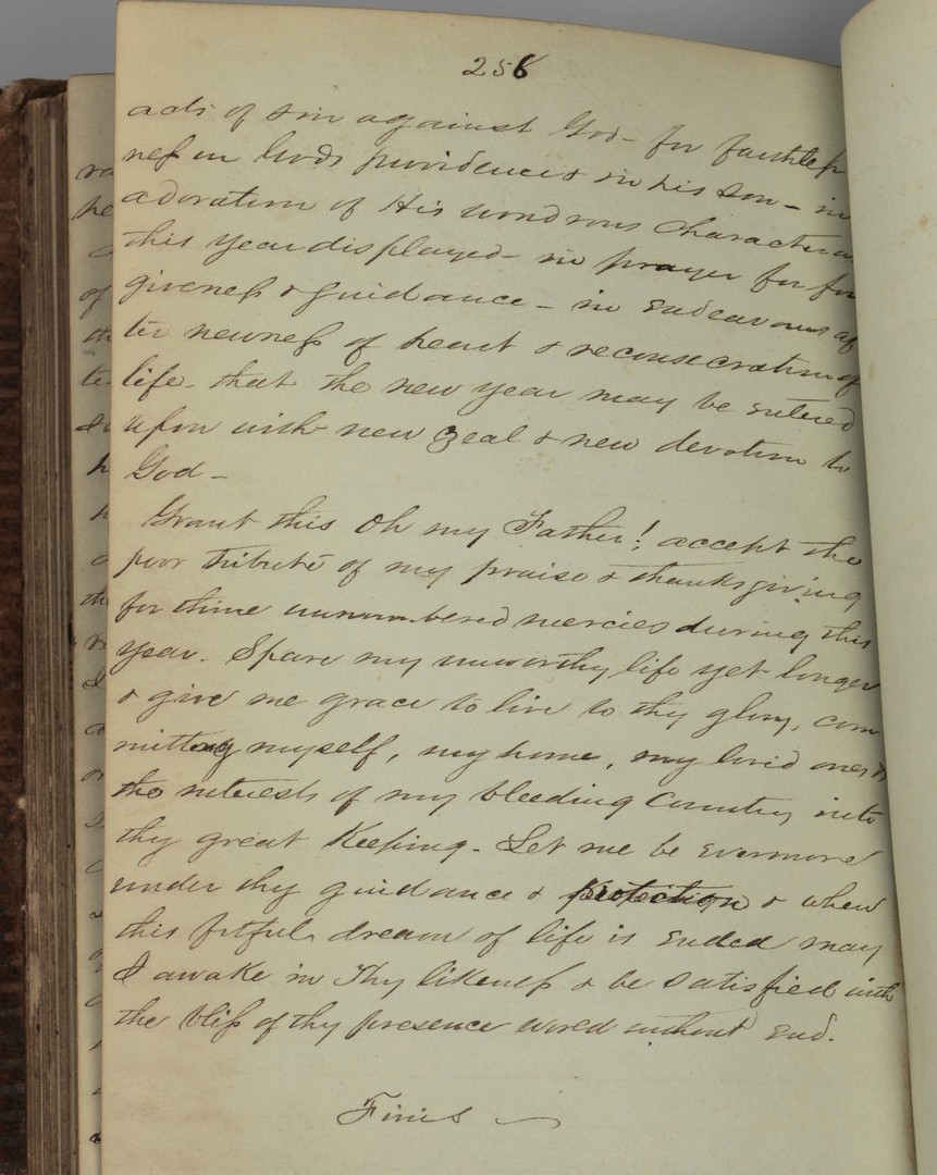 Lot 180: CSA Chaplain Witherspoon Diary, Autobiography