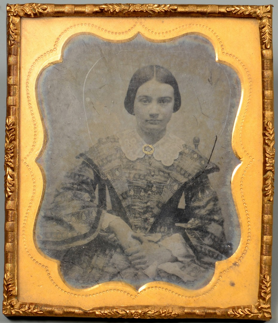 Lot 181: GA 9th CSA Ambrotype R. Cassady & Civil War Archive