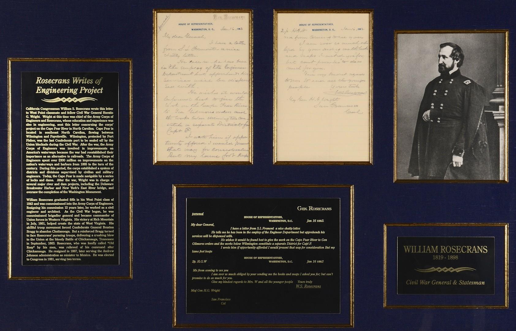 Lot 185: 3 Civil War Generals Signatures