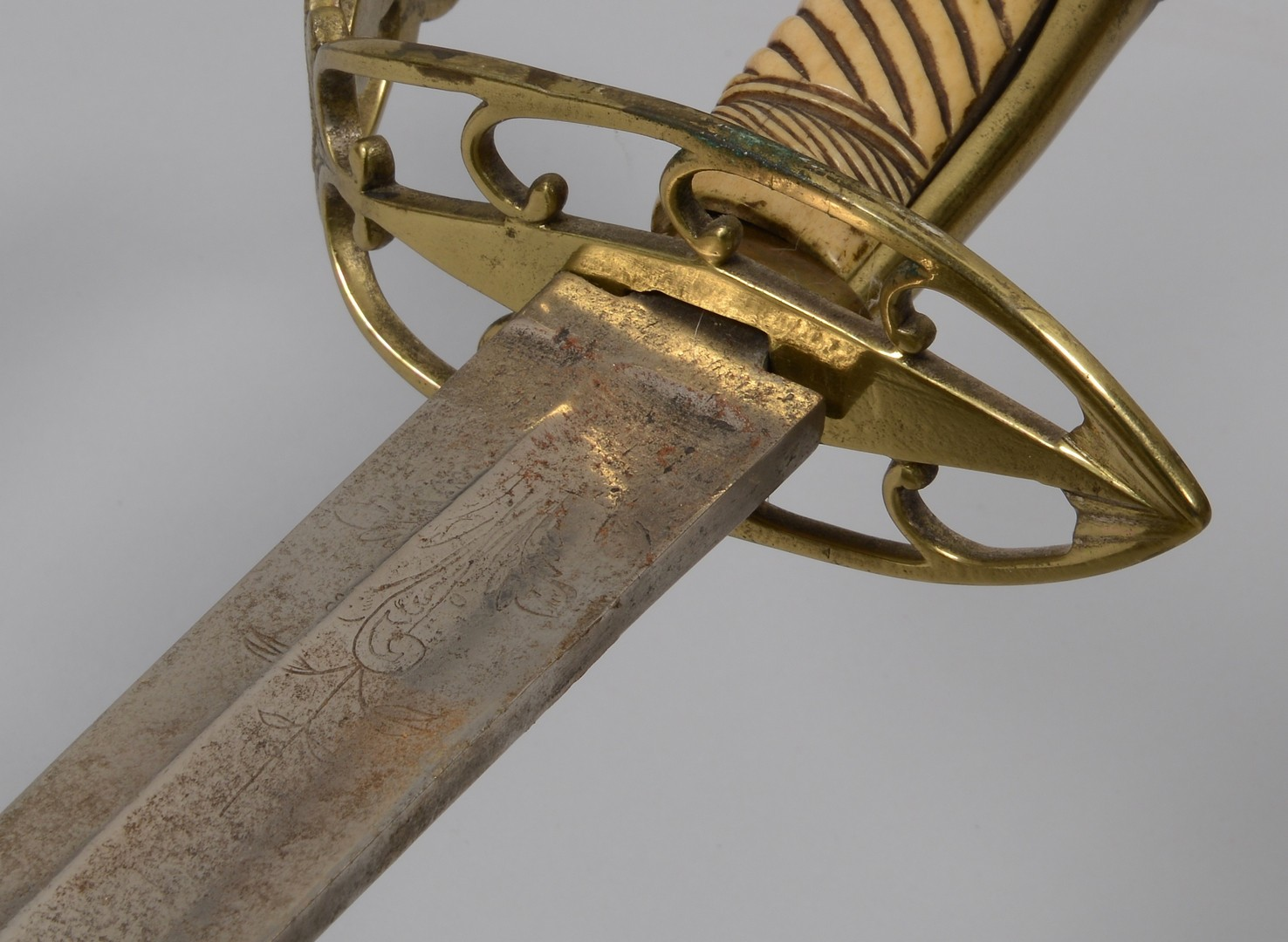 Lot 195: Early Military Sword of Alexander MicMillan, Tennessee