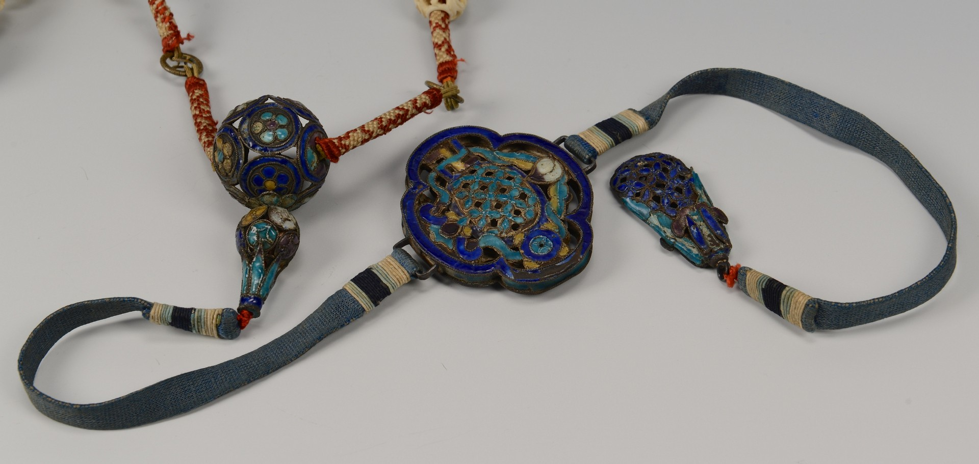 Lot 1: Qing Dynasty Court Necklace