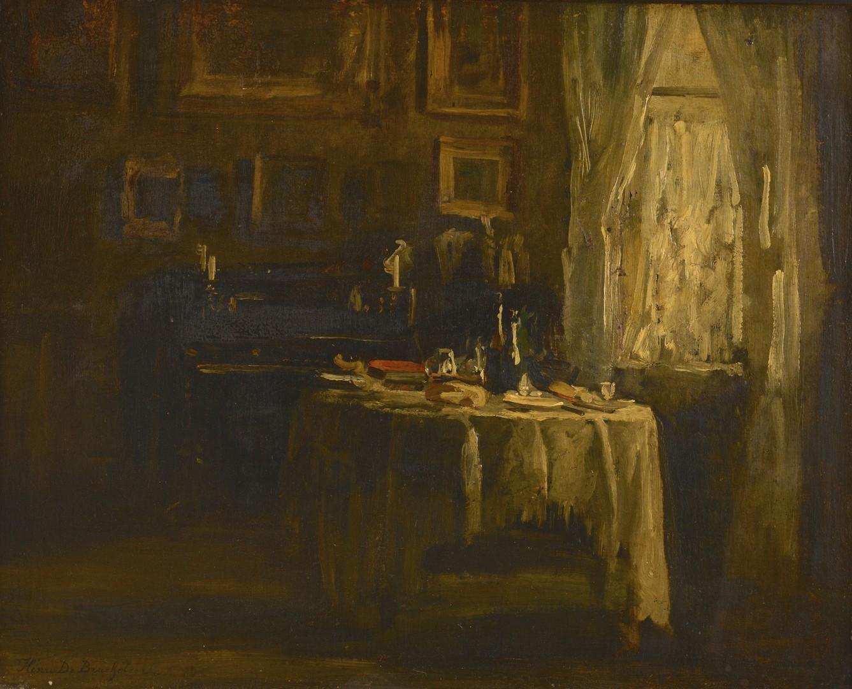 Lot 225: Henri De Braekeleer Interior Scene