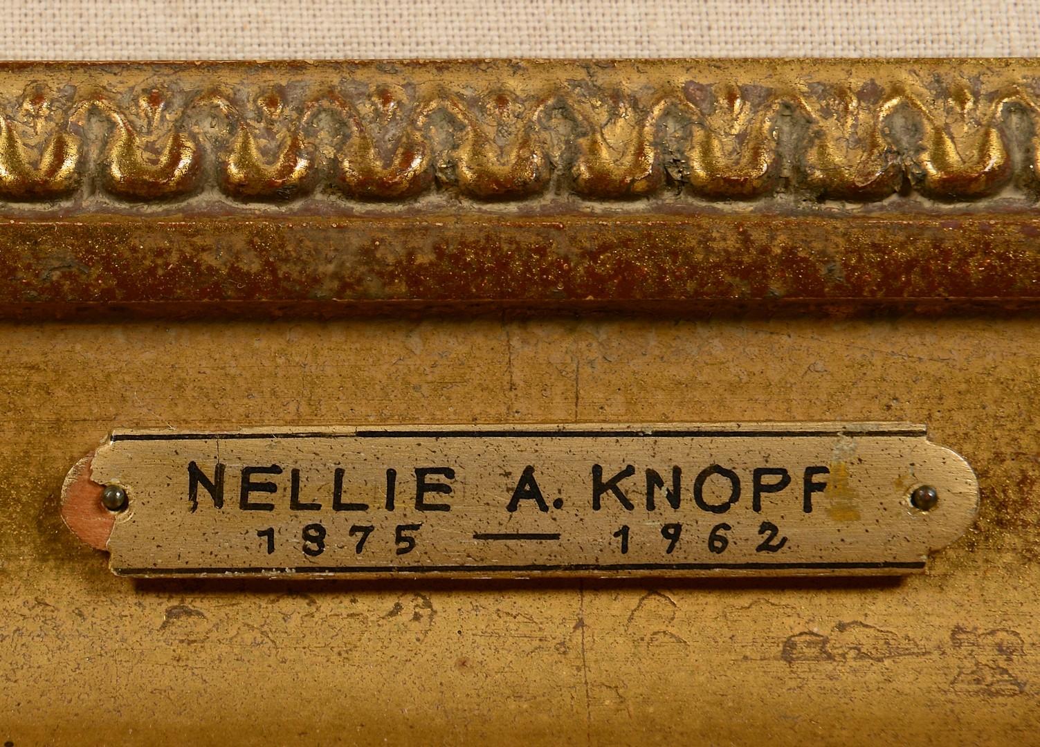 Lot 237: Nellie Knopf O/C Landscape