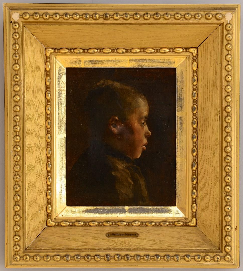 Lot 240: OOC of African American Boy, poss. Wm. H. Hart
