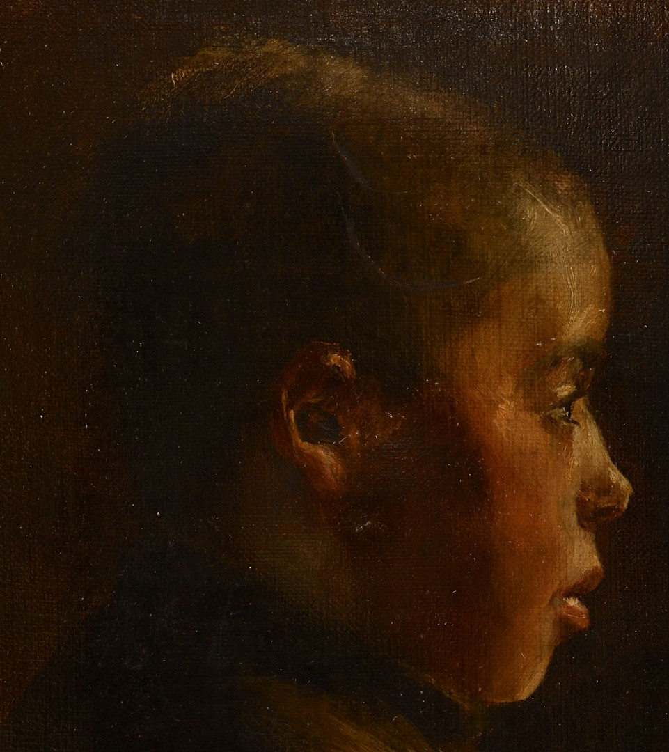 Lot 240: OOC of African American Boy, poss. Wm. H. Hart