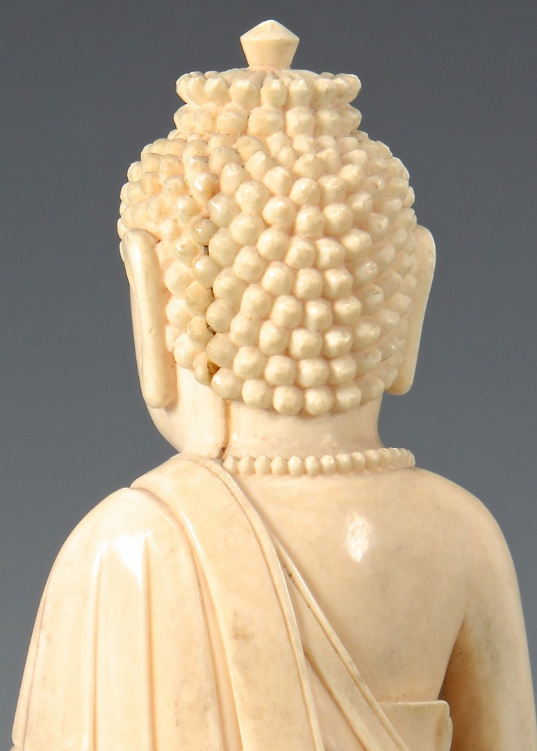 Lot 24 Antique Ivory Buddha