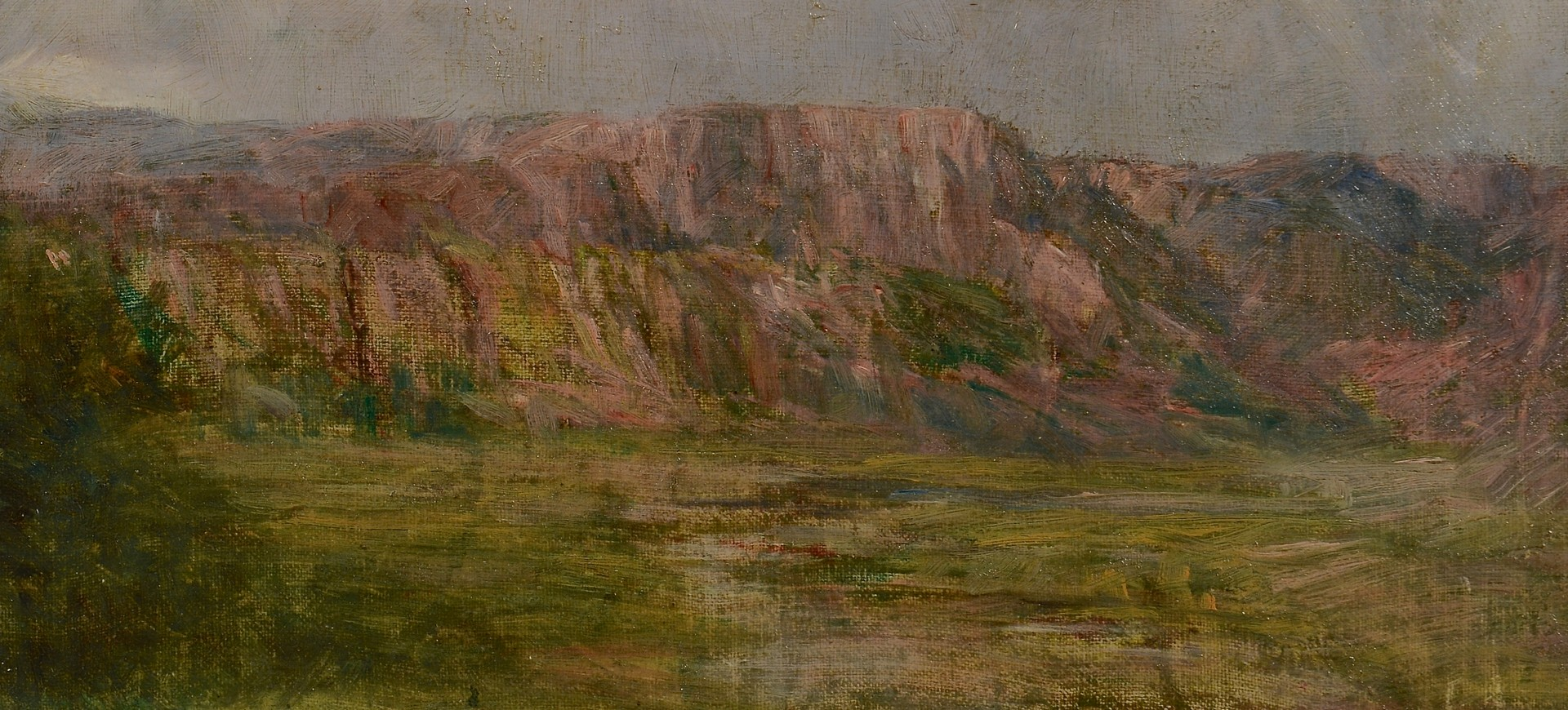 Lot 250: Oil on Board Landscape, Willison