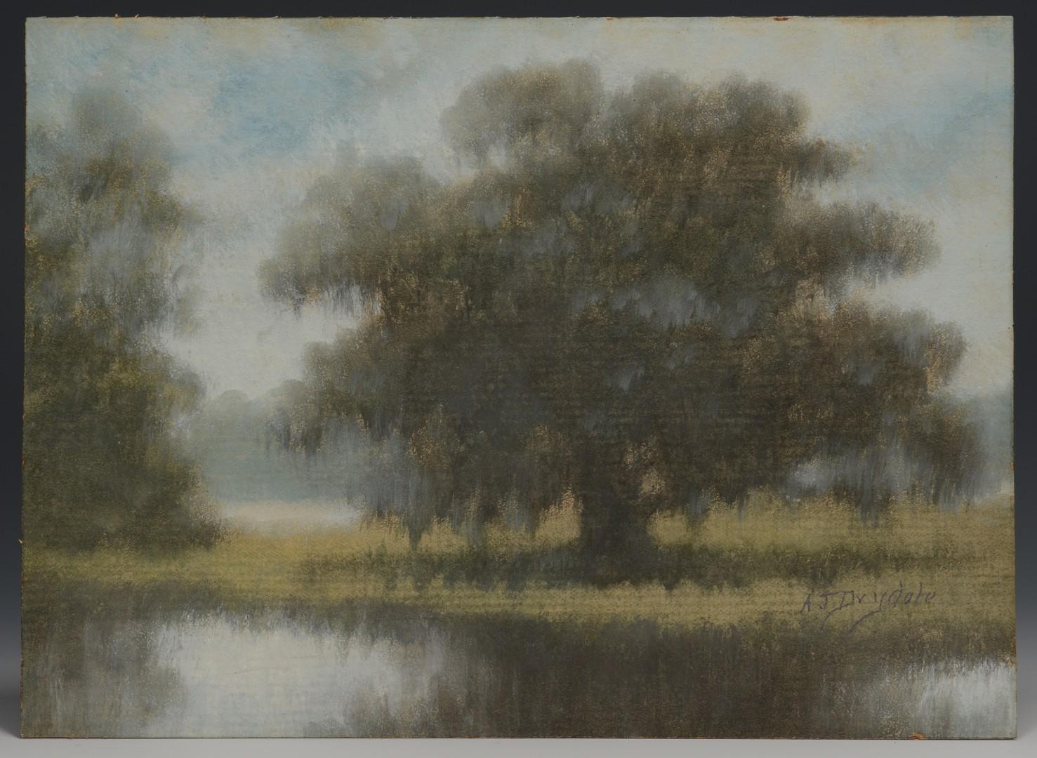 Lot 251: Alexander Drysdale Louisiana Landscape