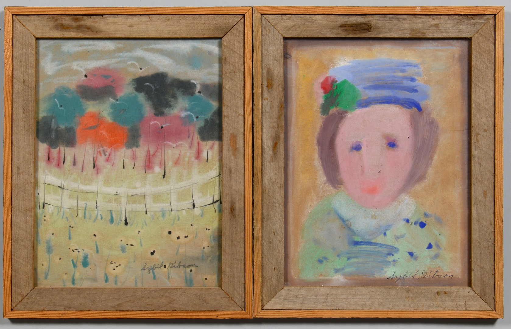 Lot 255: 2 Sybil Gibson Works