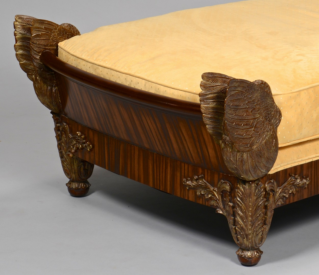 Lot 270: French Second Empire Swan Day Bed
