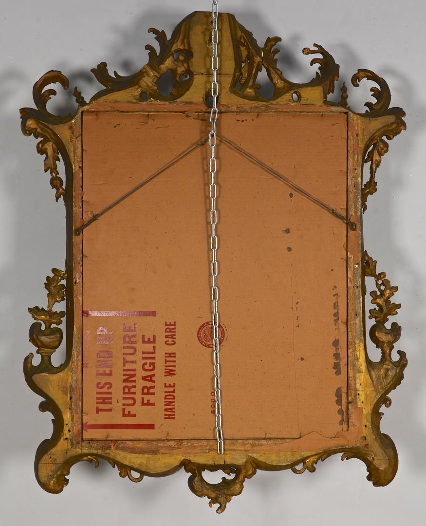 Lot 274: Gilt Rococo Mirror, Continental