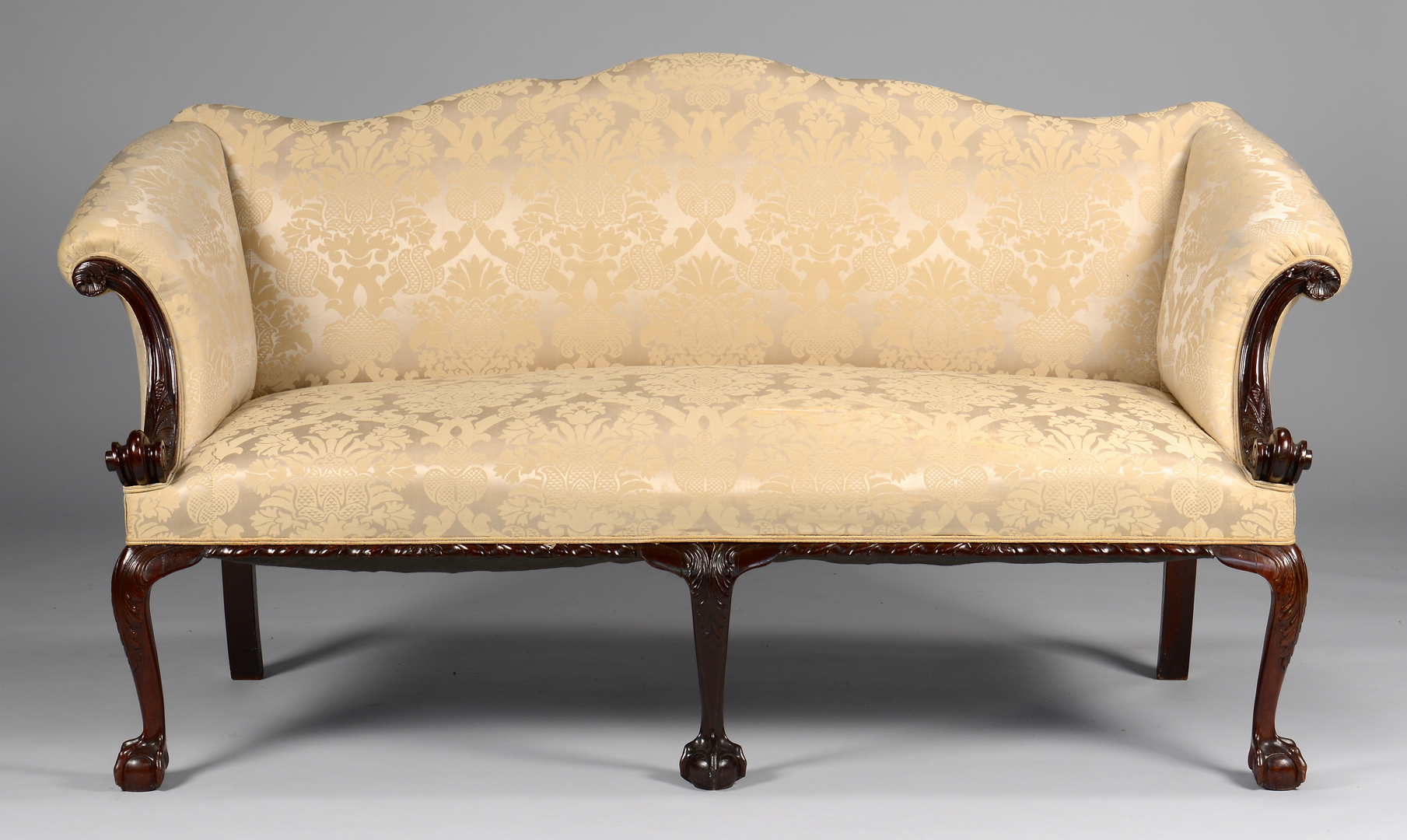 Lot 277 Centennial Irish Chippendale Sofa