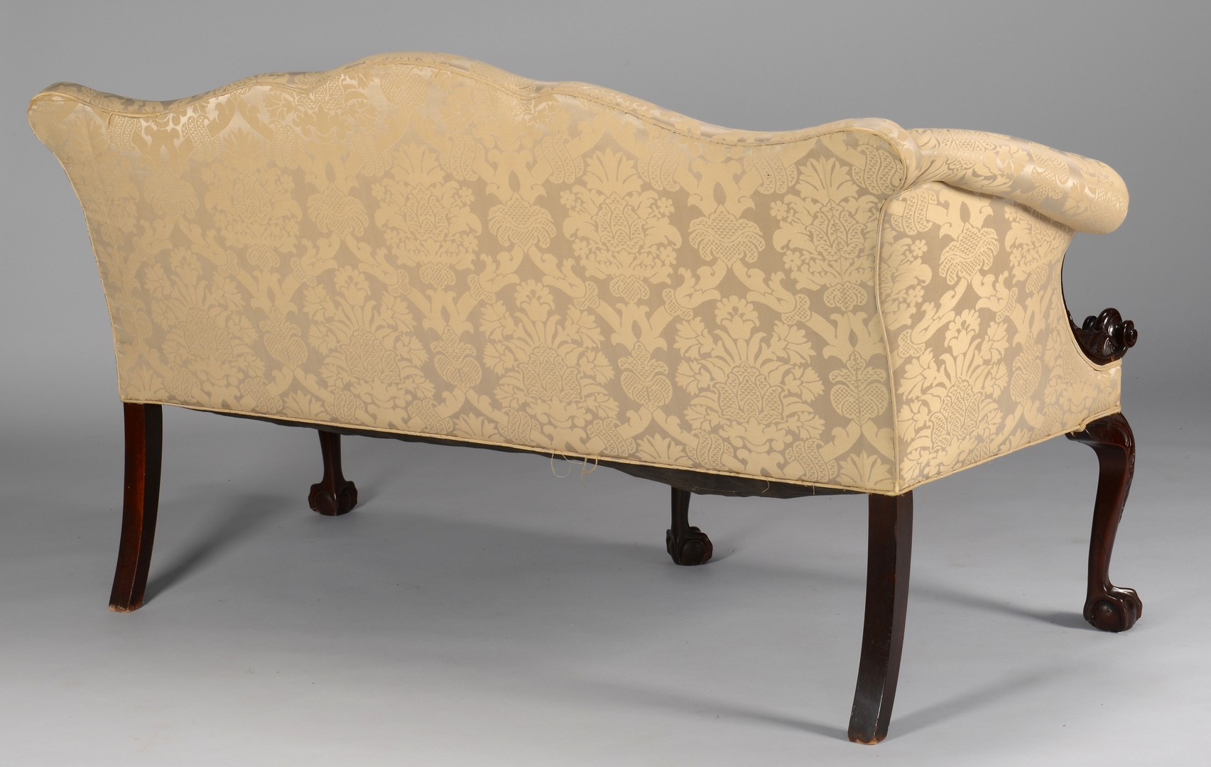 Lot 277: Centennial Irish Chippendale Sofa