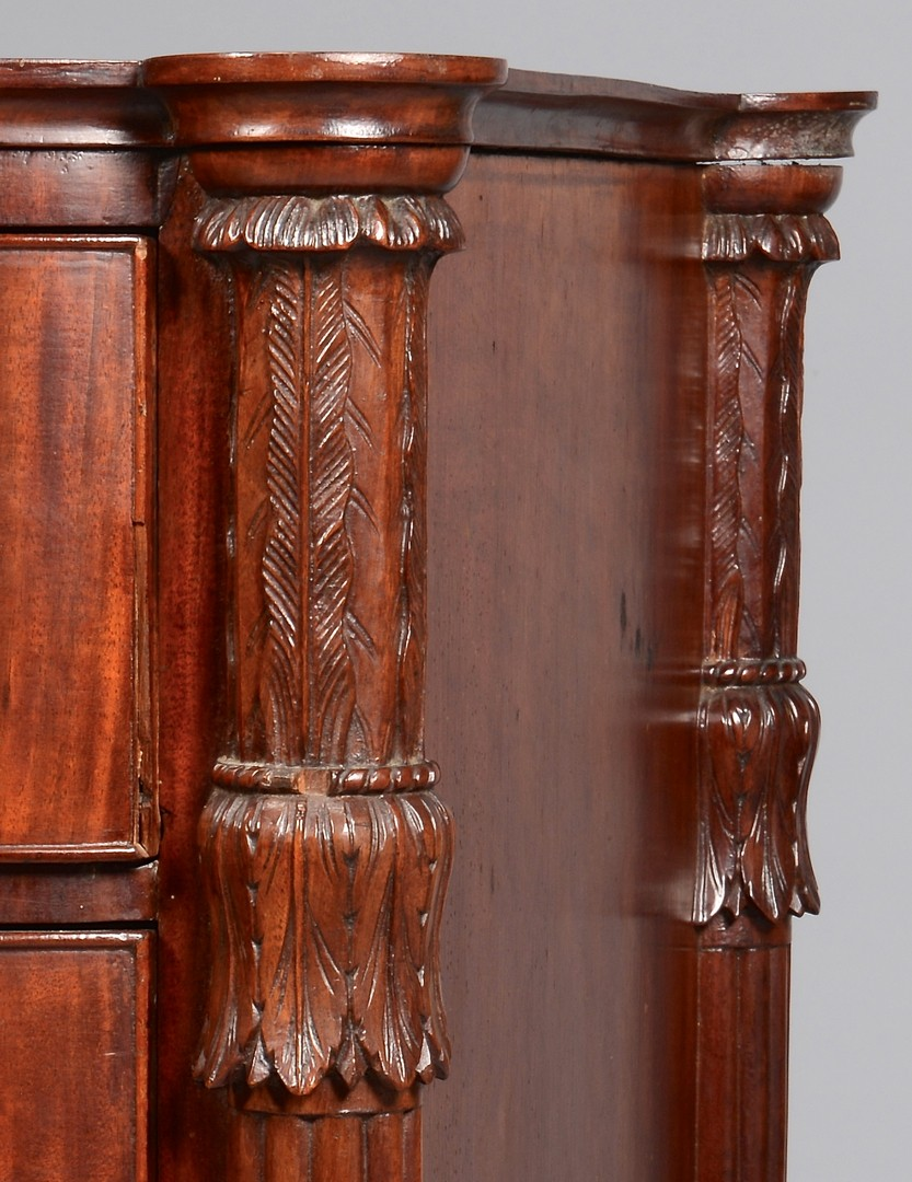 Lot 278: Federal Bowfront Chest of Drawers