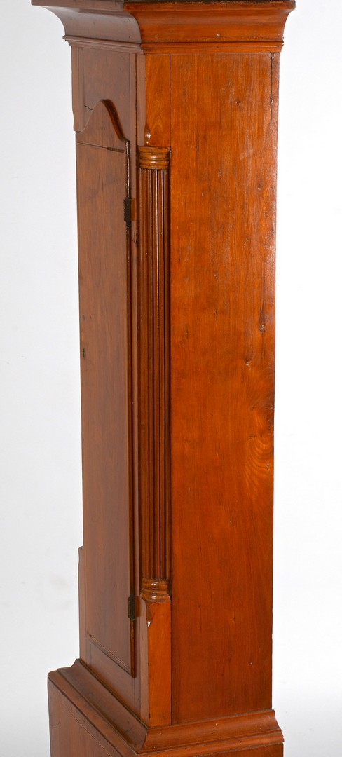 Lot 282: Southern Cherry Tall Case Clock, poss. KY
