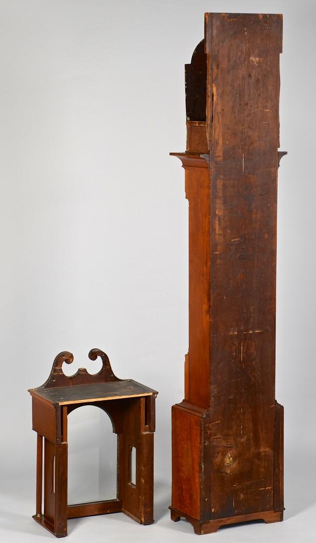 Lot 282: Southern Cherry Tall Case Clock, poss. KY