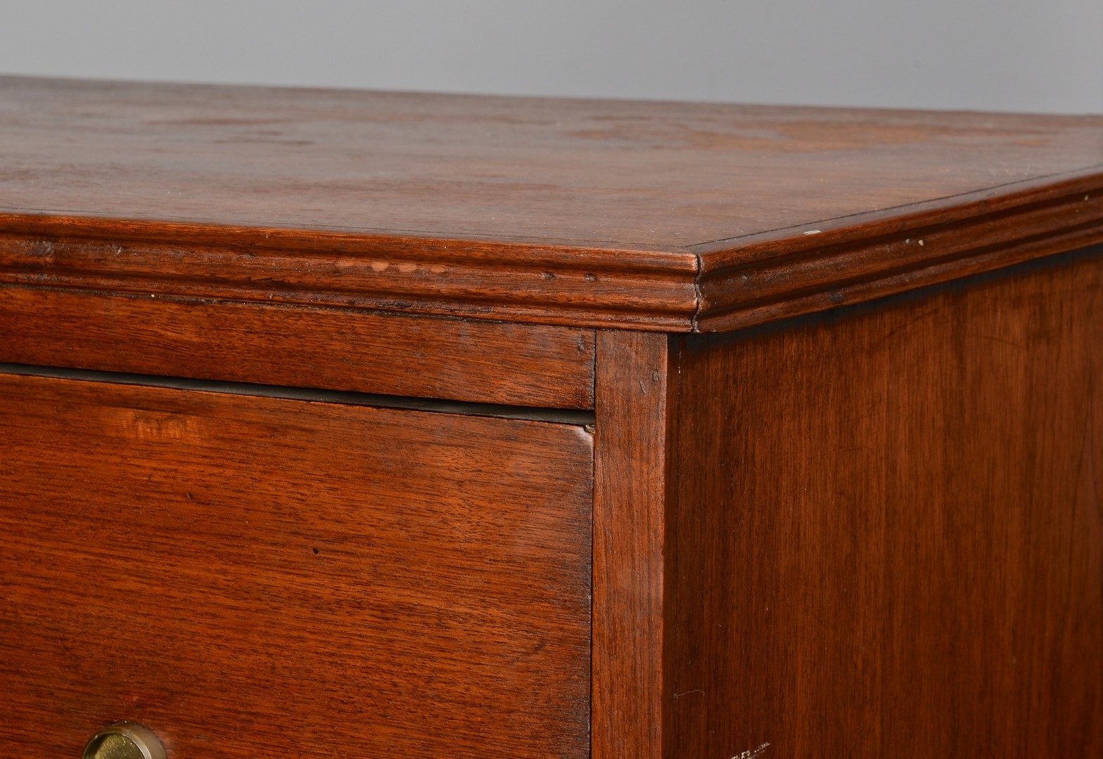 Lot 284: East TN Chest of Drawers, signed A. Hansard