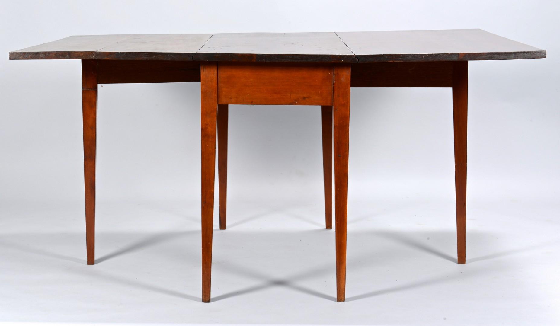 Lot 288: Davidson Co. TN Cherry Dropleaf Table