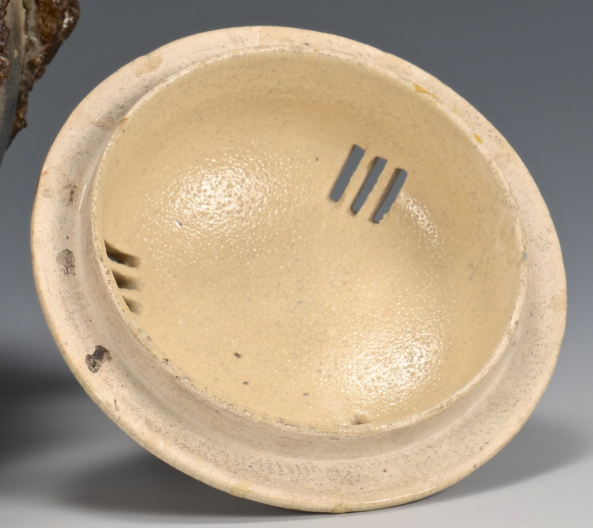 Lot 28: Makuzu Kozan Porcelain Censer