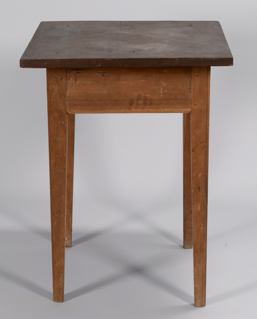 Lot 291: Tennessee Hepplewhite Cherry Table