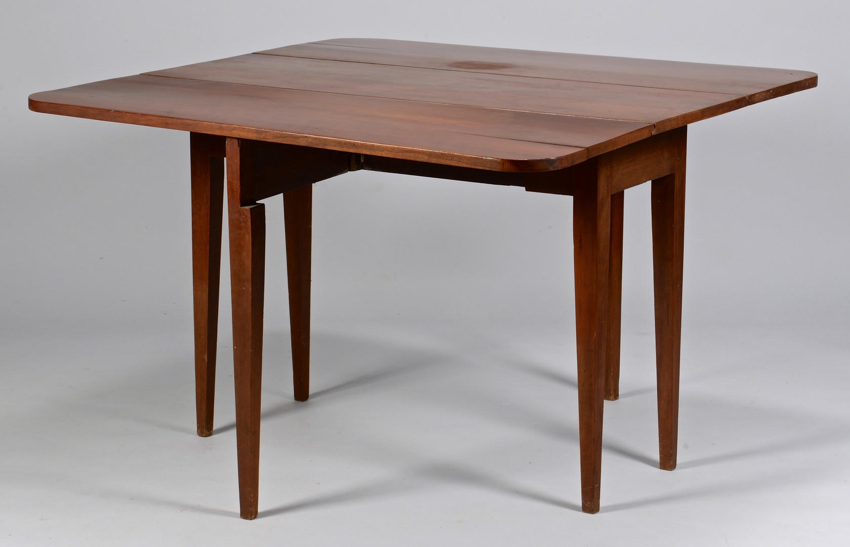 Lot 293: East TN Cherry Drop Leaf Table