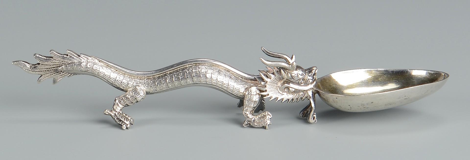 Lot 2: Group Asian Silver & Jewelry, 15 pcs.