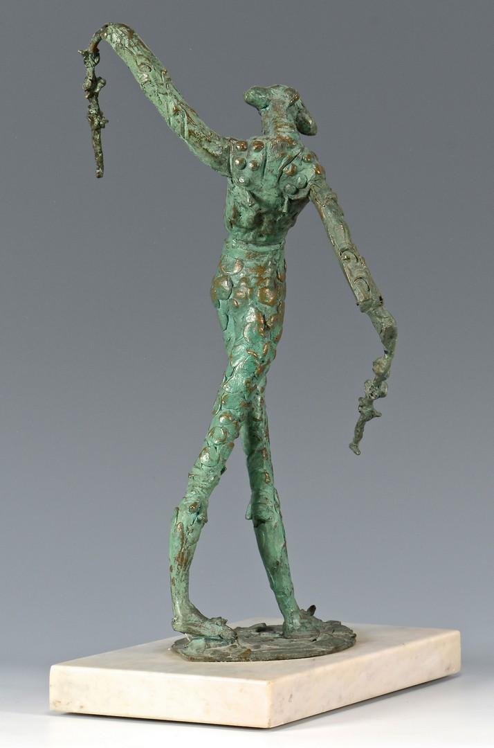 Lot 301: Heriberto Juarez Bronze Matador Sculpture