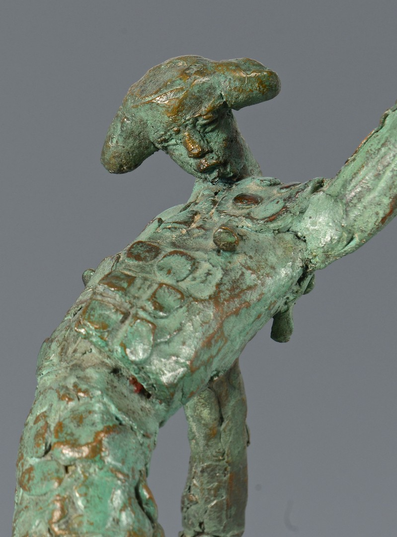 Lot 301: Heriberto Juarez Bronze Matador Sculpture
