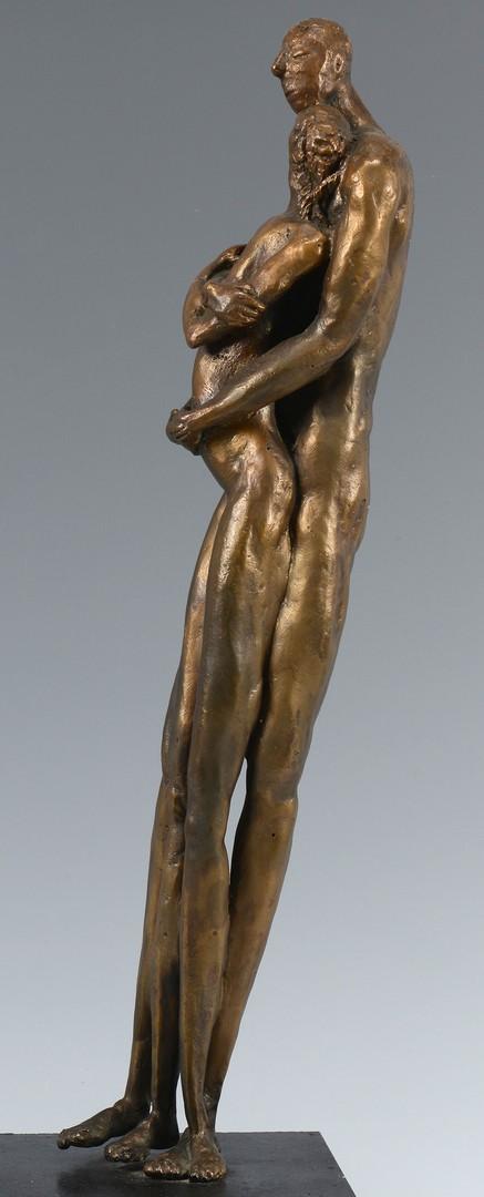 Lot 304: Modern Bronze Sculpture signed M. Block