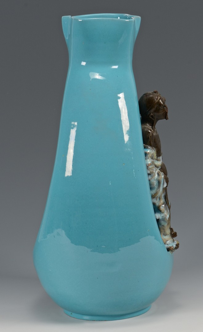 Lot 306: Large Marcello Fantoni Vase, Mid-Century