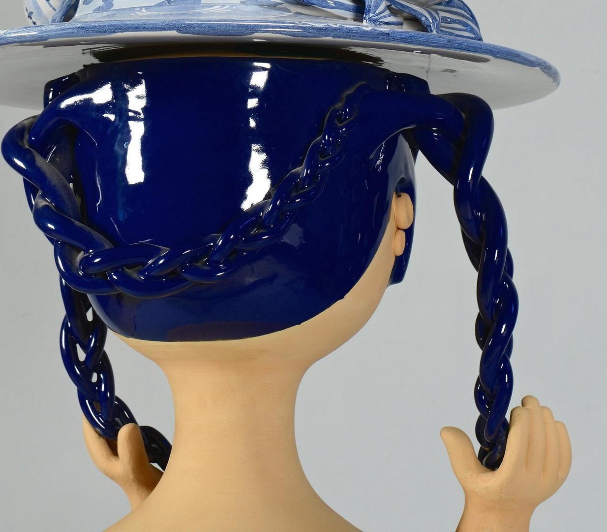 Lot 307: Life Sized Bjorn Wiinblad Sculpture