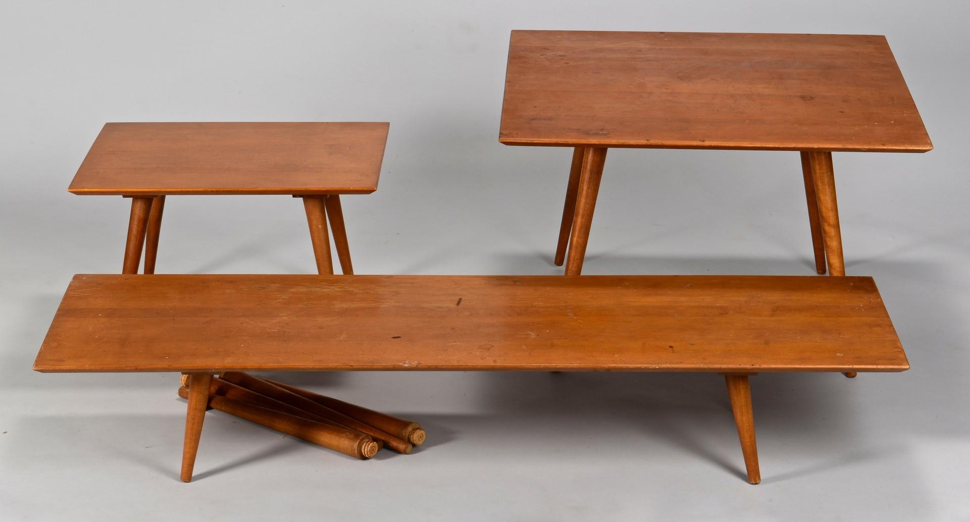Lot 309: Paul McCobb Midcentury Furniture Set