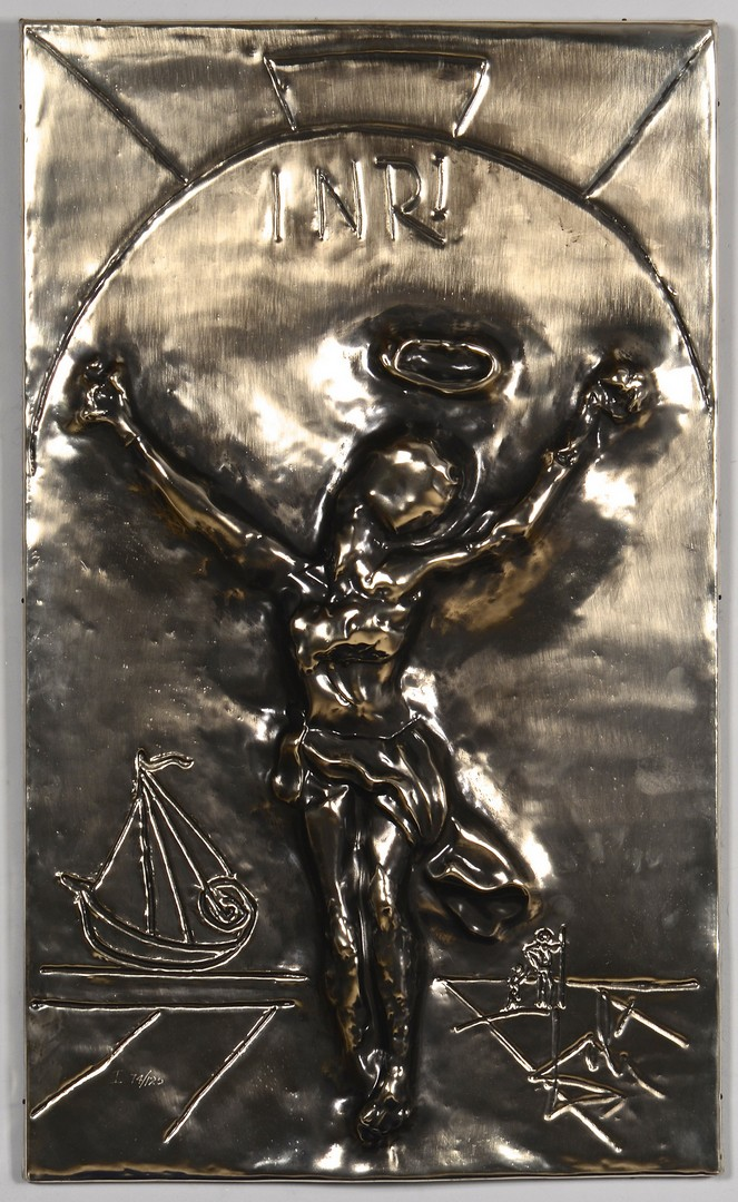 Lot 311: Dali Wall Hanging, Christ of St. John of the Cross