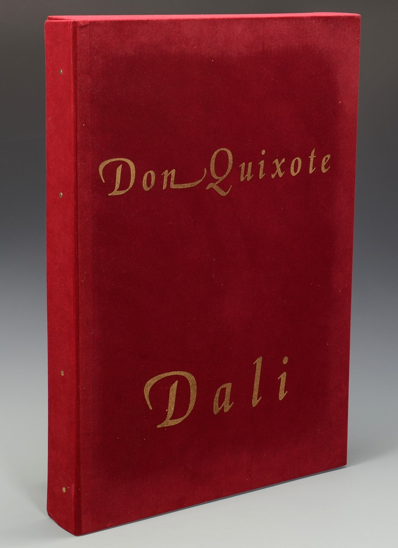 Lot 312: Dali Sculpture, Don Quixote