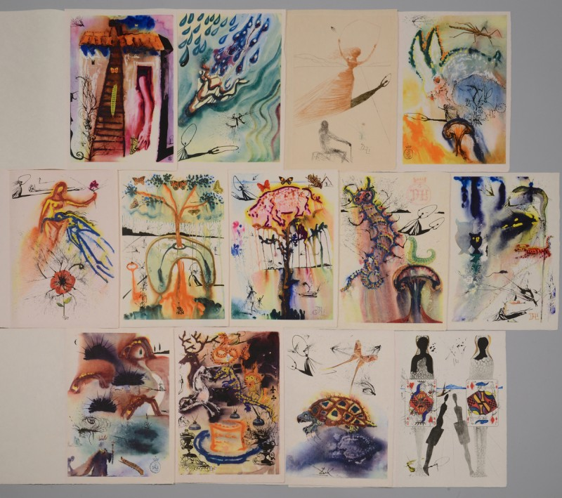 "Lot 313: Salvador Dali, 200 ed. ""Alice's Adventures in Wonderland"""