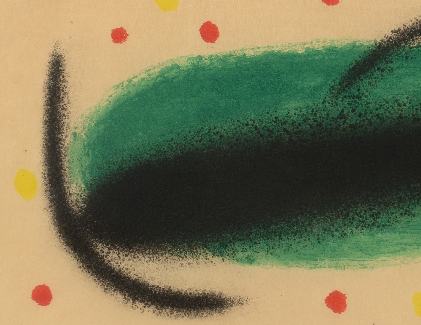 Lot 314: Joan Miro etching, Fusees 1959