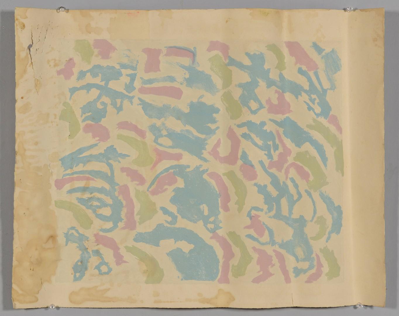Lot 318: Beauford Delaney, Afrique Lithography