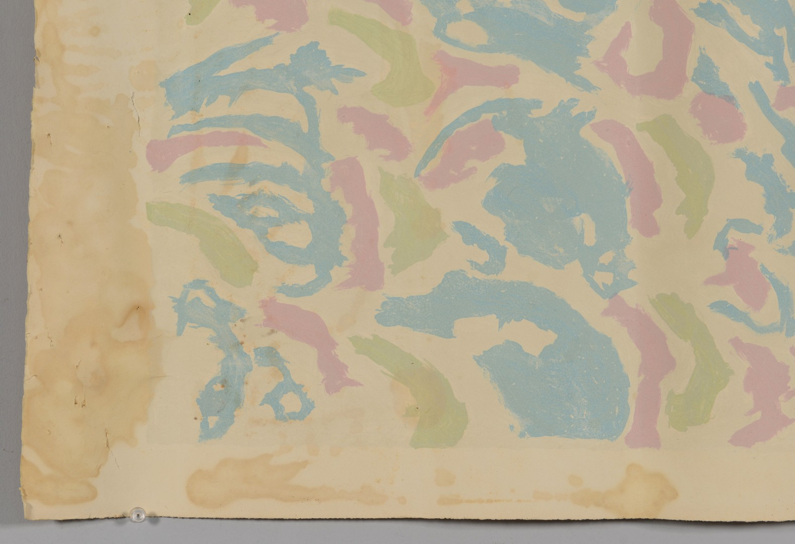 Lot 318: Beauford Delaney, Afrique Lithography