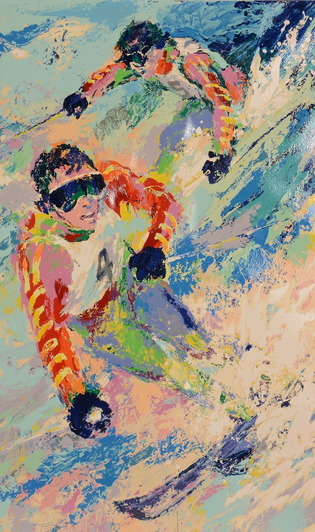 Lot 322: LeRoy Neiman Signed Serigraph, Mahre Bros.