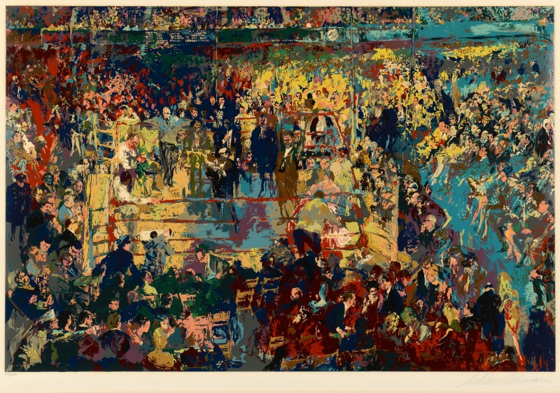Lot 323: LeRoy Neiman Signed Serigraph, Champions