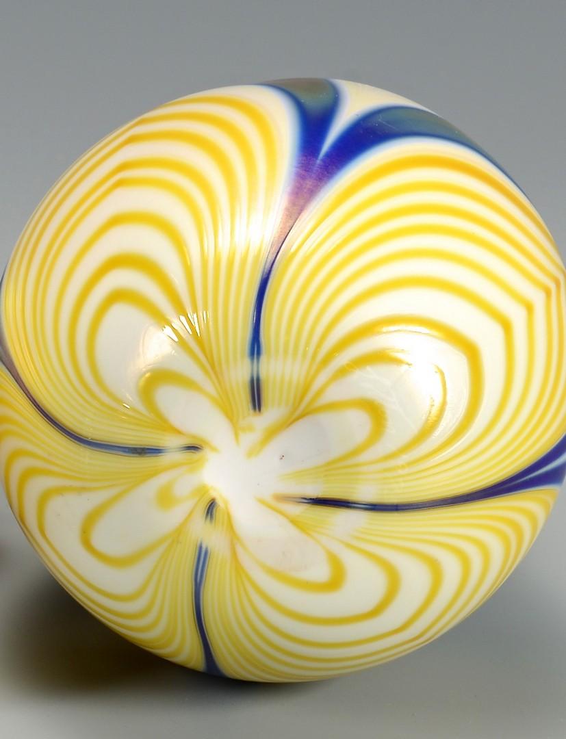 Lot 328: C. Lotton Art Glass Vase