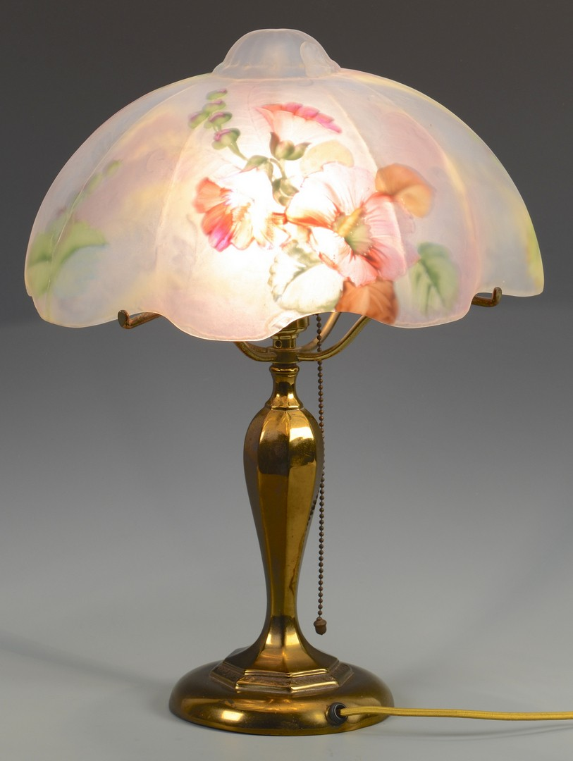Lot 333: Signed Pairpoint Table Lamp